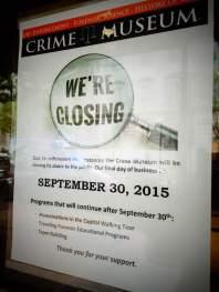 Closing Sign
