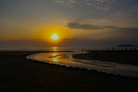 Landscape at Sunset Jaco