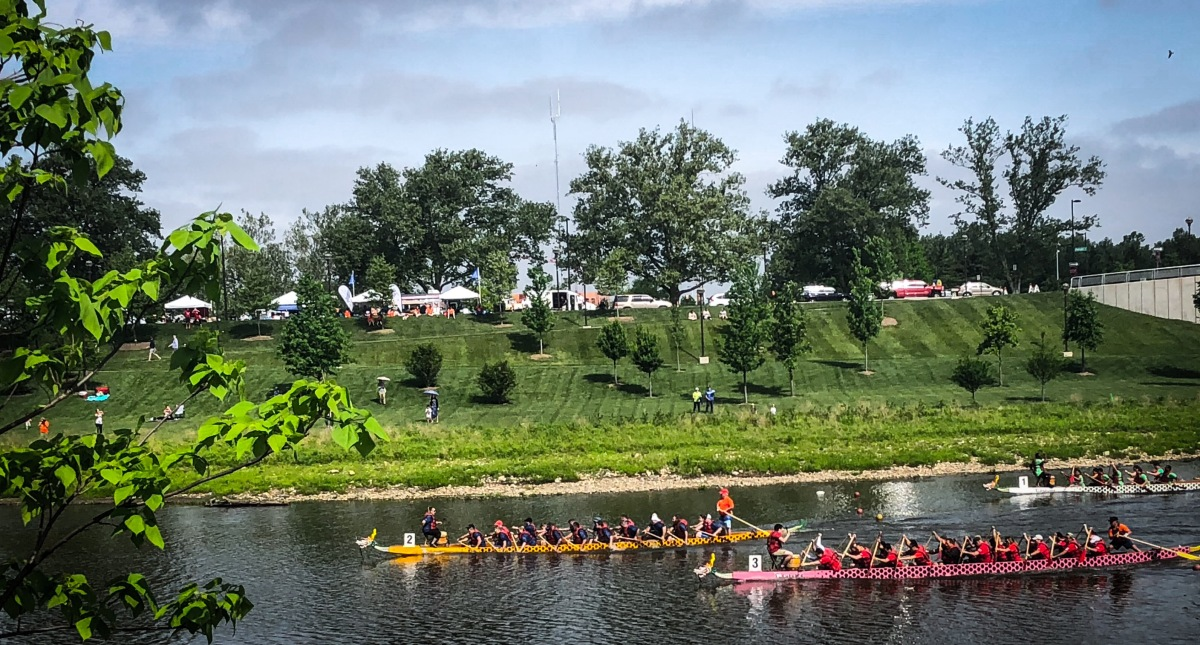 Asian Festival Bridges Cultures: Dragon Boat Race Kicks Off Annual Memorial Day Weekend Festival