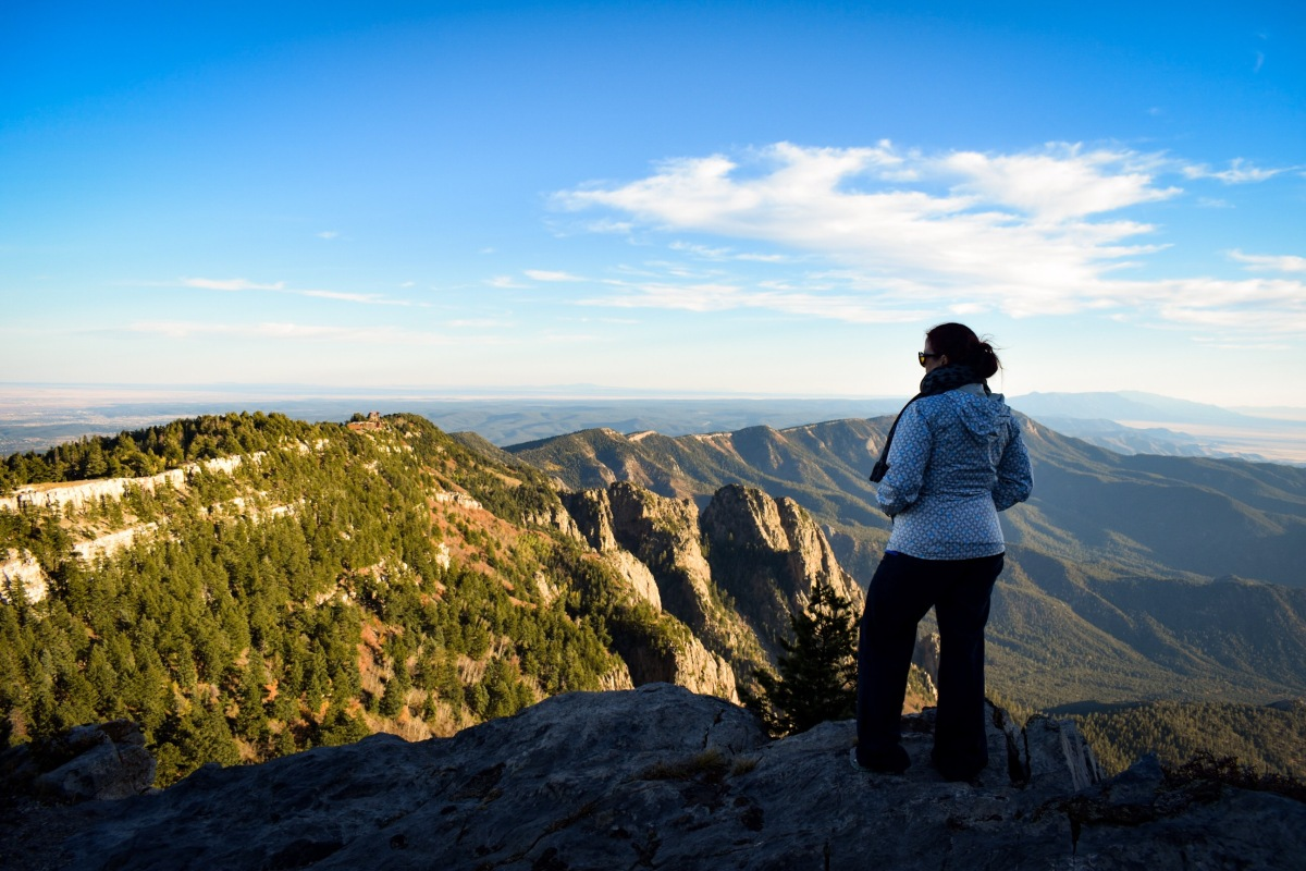 """""""We Don't Talk About it, Unless Someone Asks"""": Adventures in the Sandia Mountains, at 10,000 Feet"""